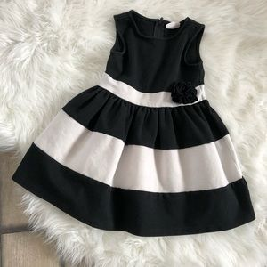 Crazy 8 Black and White Striped Dress